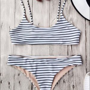 Other - Striped Bikini Set